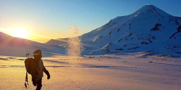 Ski de randonnée et parapente en Russie