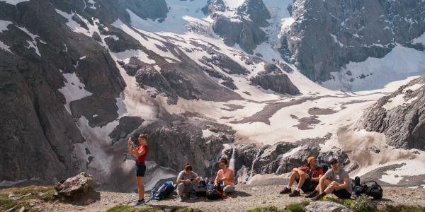 Deux jours d'escalade et de randonnée dans le massif des Écrins