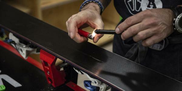 Tuto : comment bien réparer ses skis pour la saison ?