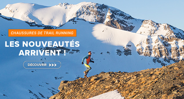 Gamme chaussures Trail running
