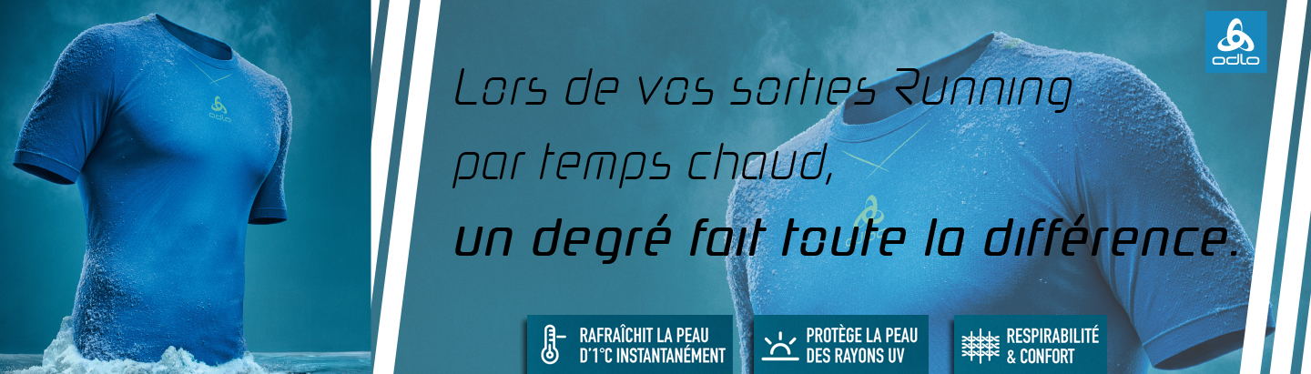 Running par temps chaud