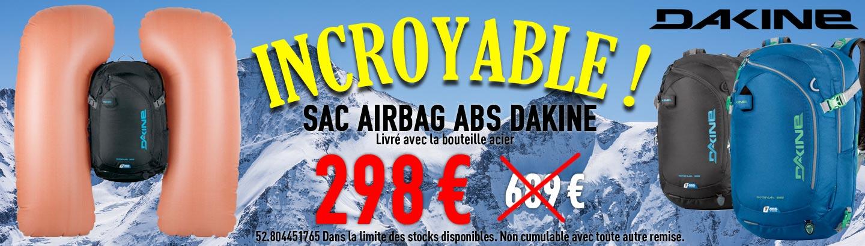 Sac Airbag Dakine