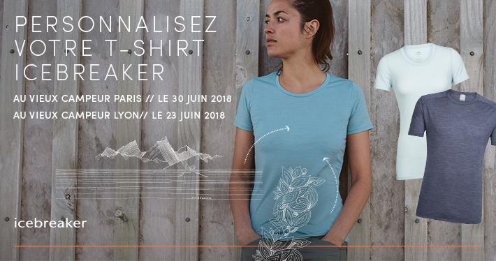 Personnalisez votre T-shirt Icebreaker