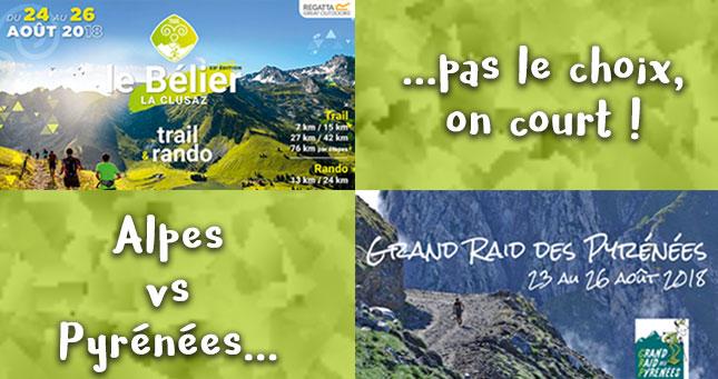 Alpes vs Pyrénées