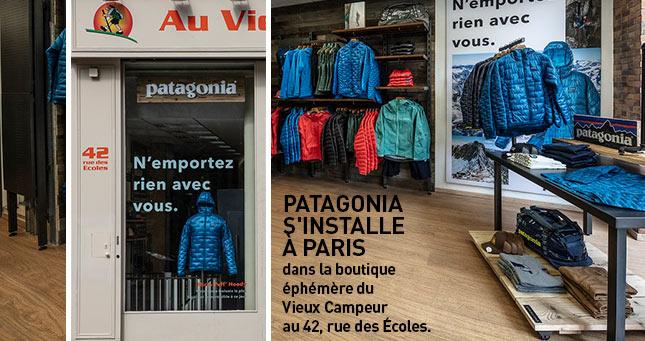 Patagonia la nouvelle boutique éphémère