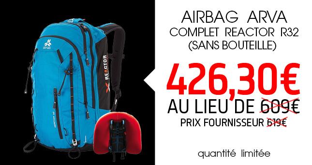 REACTOR R32 Airbag Arva