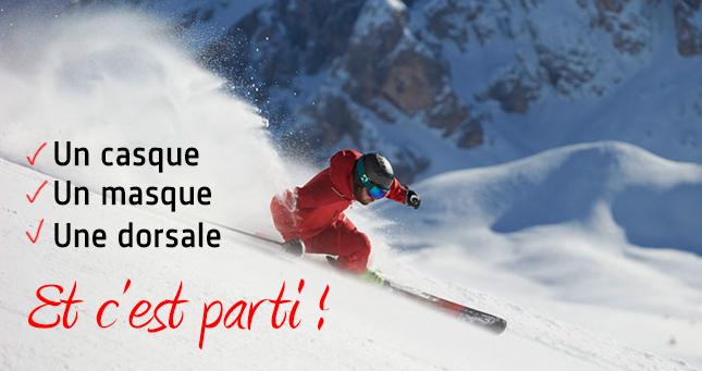 Protection Ski