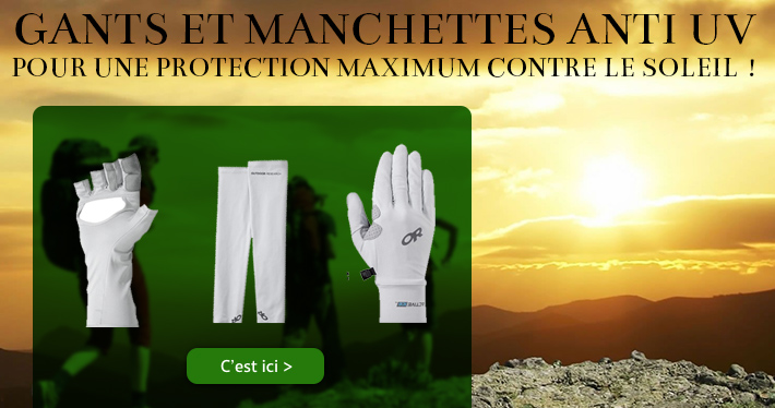 Gants et manchettes anti UV