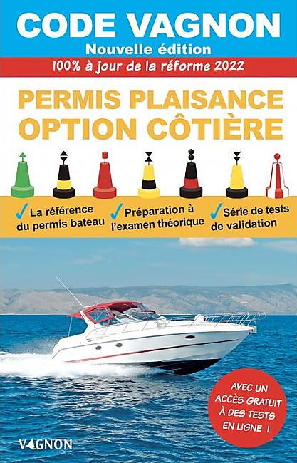 CODE PERMIS PLAISANCE OPTION COTIERE