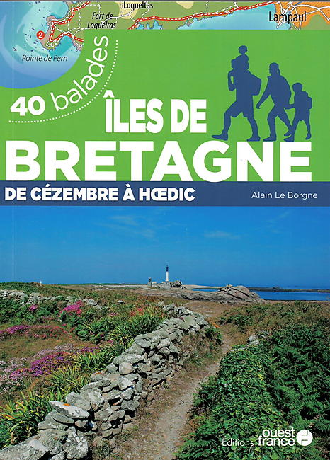ILES DE BRETAGNE 40 BALADES