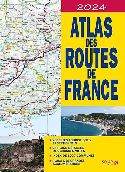 ATLAS DES ROUTES DE FRANCE