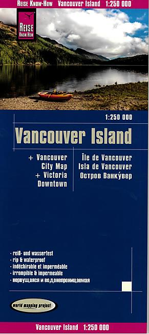 VANCOUVER ISLAND 1 250 000 E REISE