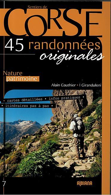 CORSE 45 RANDONNEES ORIGINALES