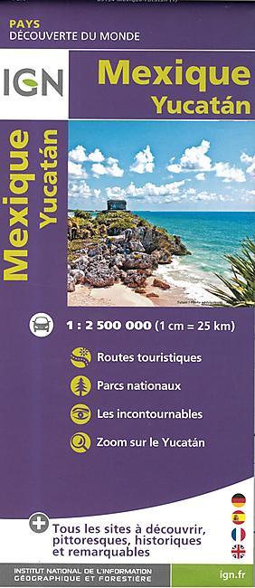 MEXIQUE YUCATAN 1.2.500.000