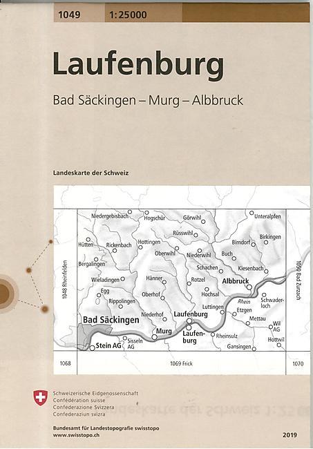 1049 LAUFENBURG ECHELLE 1 25 000