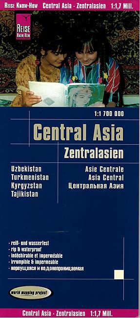 CENTRAL ASIA 1.1.700.000  E.REISE