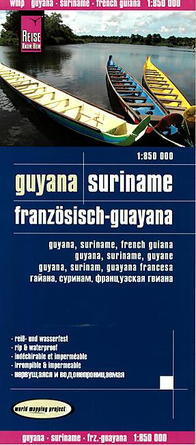 GUYANA SURINAME 1.850.000 E.REISE