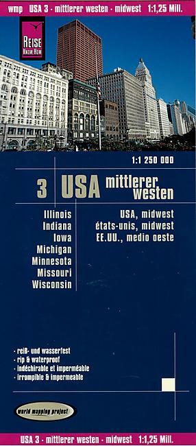 3 USA MIDWEST 1 1 250 000 E REISE