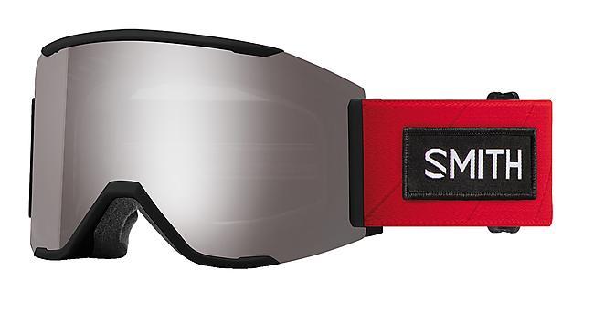 MASQUE DE SKI SQUAD MAG RED  SMITH  3+1