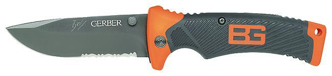 COUTEAU BEAR GRYLLS FOLDING SHEATH KNIFE