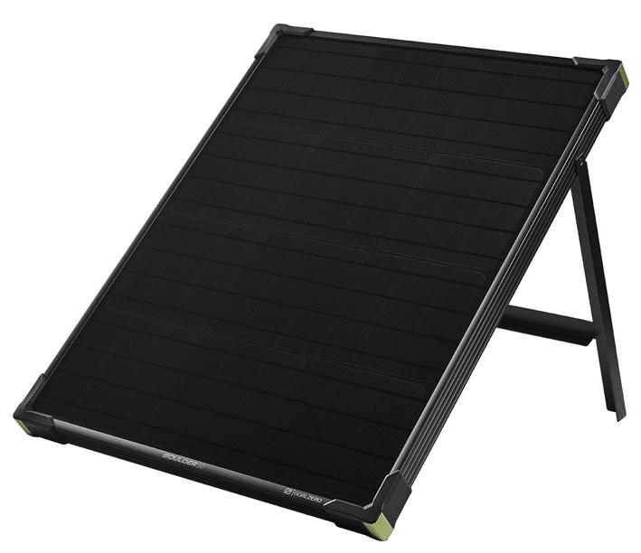 panneau solaire vieux campeur