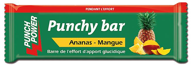 BARRE PUNCHY ANANAS MANGUE NATURELLE