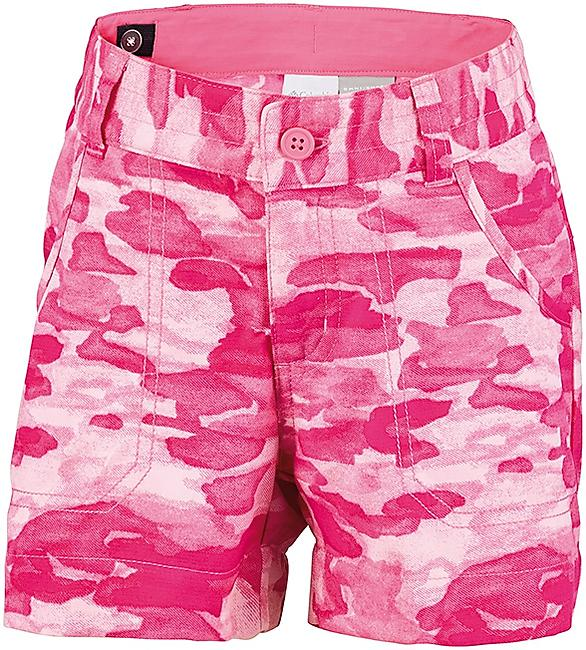 SHORT SILVER RIDGE PRINTED GIRL NEW