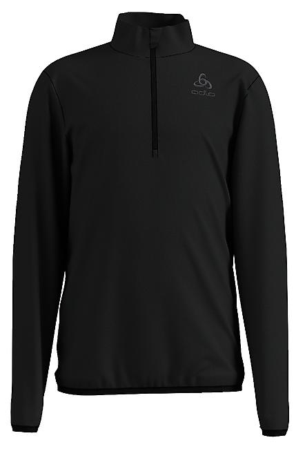 SWEAT POLAIRE ROYALE KIDS MIDLAYER 1/2 ZIP BLACK