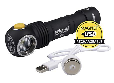 FRONTALE WIZARD PRO MAGNET USB 2300