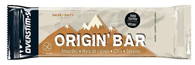 BARRE ORIGIN' BAR SALEE/NOIX DE CAJOU/CACAHUETE