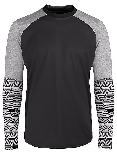 T-SHIRT ML GEO MERINO WOOL SLEEVE CREW M