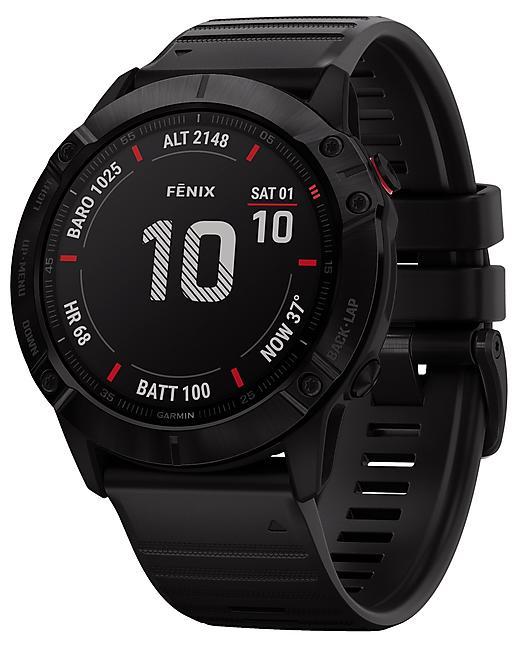 MONTRE GPS FENIX 6X PRO GRAY NOIR