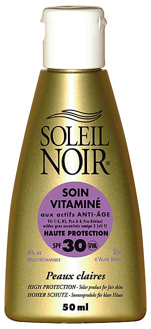 CREME SOLAIRE SOIN VITAMINE IND 30