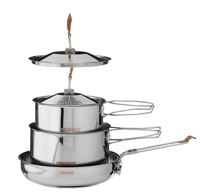 BATTERIE CAMP FIRE COOKSET SMALL INOX