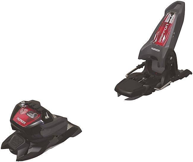 FIXATIONS PISTE GRIFFON 13 ID ANTHRAC/BLK/RED