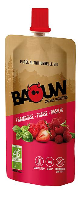 PUREE FRAMBOISE/FRAISE/BASILIC  BIO