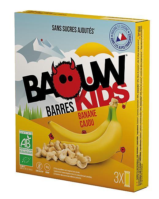 BARRES KIDS BANANE CAJOU x 3