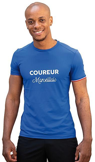 T-SHIRT MC LE MARSEILLAIS M