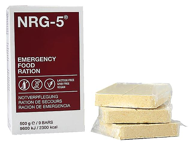 RATION ALIMENTAIRE D'URGENCE NRG-5 2300 KCAL