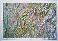 RELIEF ANNECY MONT BLANC 1.100.000 (80x113)