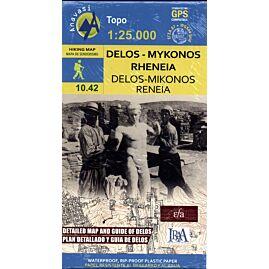 10.42 DELOS MIKONOS 1.25.000 E.ANAVASI