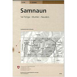 1179 SAMNAUN  ECHELLE 1.25.000