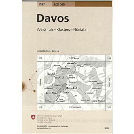 1197 DAVOS  ECHELLE 1.25.000