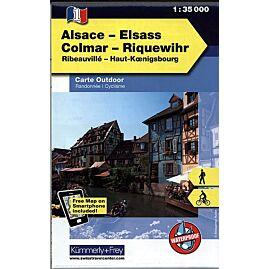 1 ELSASS ALSACE COLMAR ECHELLE 1 35 000