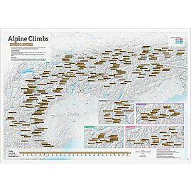 ALPINE CLIMBS CARTE A GRATTER