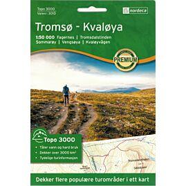 3010 TROMSO KVALOYA 1.50.000 (NORVEGE)