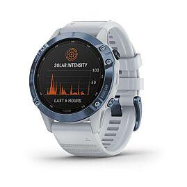 MONTRE GPS FENIX 6 PRO SOLAR COBALT BLUE