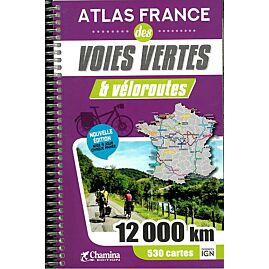 ATLAS FRANCE VOIES VERTES ET VELOROUTES