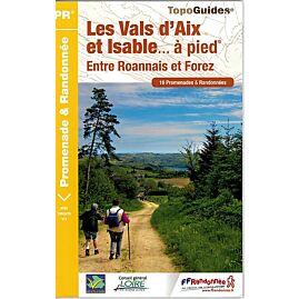 P424 LES VALS AIX ET ISABLE A PIED ED.FFRP