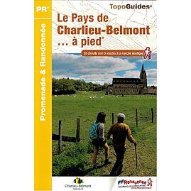 P423 LE PAYS DE CHARLIEU BELMONT A PIED ED.FFRP
